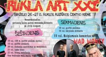 """Šiuolaikinio meno festivalis """"RUKLA ART XXI"""""""