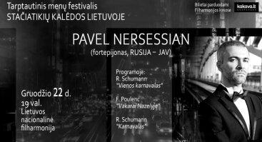 Pianisto Pavelo Nersessiano rečitalis