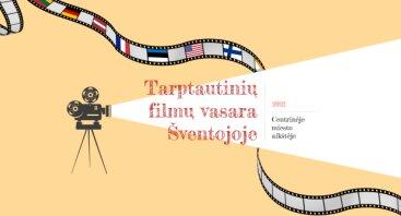Tarptautinių filmų vasara Šventojoje 2021. AMELIJA BĖGA
