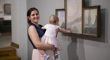 Ekskursija su mažyliais po stebuklingą Čiurlionio pasaulį