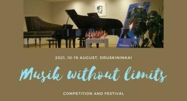 """XXI tarptautinis konkursas-festivalis """"Muzika be sienų"""""""