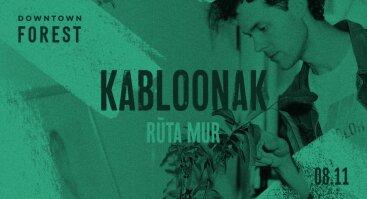MIŠKAS OŠIA: KABLOONAK + RŪTA MUR