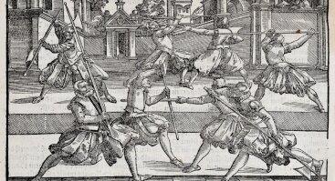 Istorinių Europos kovos menų treniruotė