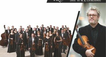 LIETUVOS KAMERINIS ORKESTRAS ir solistas Džeraldas Bidva (smuikas) | Druskininkų vasara su M. K. Čiurlioniu