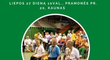 XIII - osios atrankinės Kauno regiono neįgaliųjų sporto žaidynės