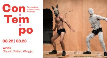 Festivalis ConTempo: Claudio Stellato WORK (Belgija)