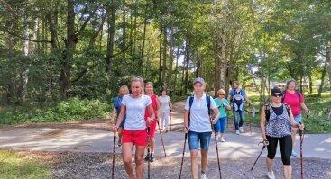 Sportiniai žygiai kiekvieną sekmadienį Kurtvėnų regioniniame parke