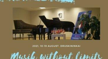 """XXI tarptautinio konkurso-festivalio """"Muzika be sienų"""" dalyvių koncertas"""