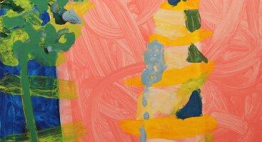 """Gintaro Palemono Janonio tapybos paroda """"Dienos ir naktys"""""""
