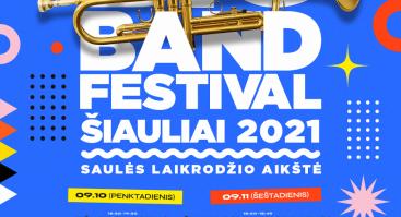Big Band Festival Šiauliai 2021 | Saulės Laikrodžio aikštė (Antra diena)