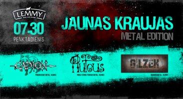 Jaunas Kraujas - Metal Edition
