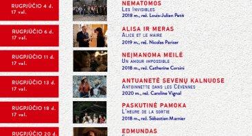 """Prancūzų vasaros kino festivalis """"Palanga, mon amour"""""""