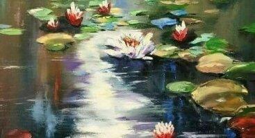 "Diena su tapyba ""Vandens lelijos"""