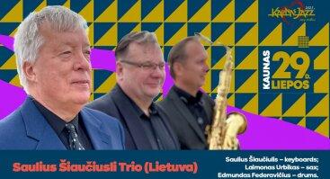 Kaunas Jazz 2021 Volfas Engelman Studijos terasoje!