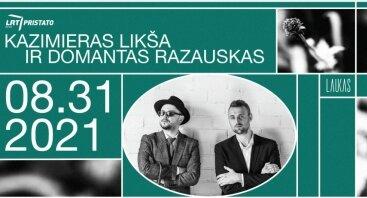 LRT OPUS pristato: Kazimieras Likša ir Domantas Razauskas