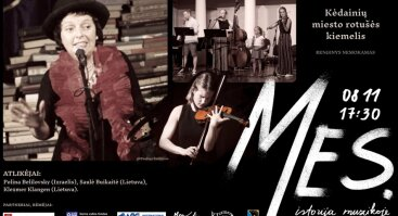 """Koncertas """"Mes. Istorija muzikoje."""
