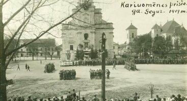 NEPRIKLAUSOMYBĖS KOVOS KAUNE - KOVA UŽ LAISVĘ 1918-1920 M.