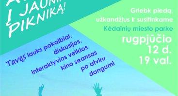 Tarptautinė jaunimo diena Kėdainiuose