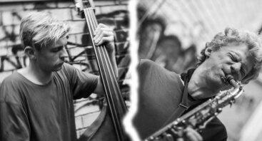 Improvizacinės muzikos vakaras   Aurelijus Užameckis, Kazimieras Jušinskas