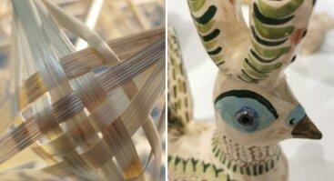 Susitikimas su keramike Rūta Indrašiūte bei tautodailininke Laima Saviščeviene