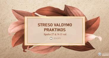 Streso valdymo praktikos