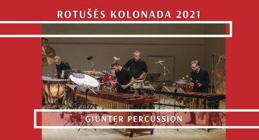 GIUNTER PERCUSSION koncertas INTERZONES