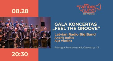 AMBER WIND 2021 Gala koncertas: Latvian Radio Big Band
