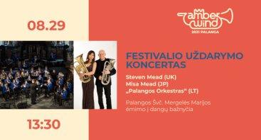 AMBER WIND 2021: Festivalio uždarymo koncertas