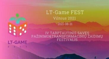 Transformacinių Žaidimų Festivalis Vilniuje
