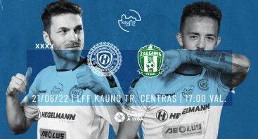 Optibet A lyga 24 turas | FC Hegelmann Litauen x FK Žalgiris