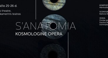"Festivalis ConTempo: ""Kosmologinė opera S"