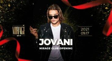 Mirage Club opening party: DJ Jovani