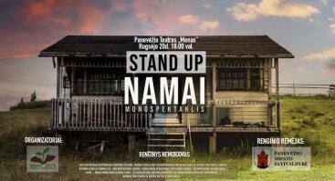 "Stand up drama ""Namai"", rež. Andrej Špilevoj"