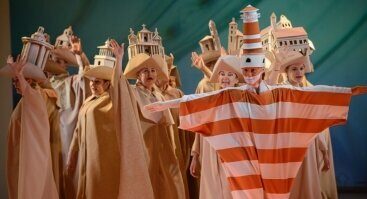 """Opera vaikams """"Guliverio kelionės"""""""