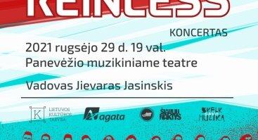 """Džiazo grupės """"REINLESS"""" koncertas"""