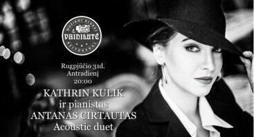 Kathrin Kulik ir Antanas Cirtautas acoustic duet