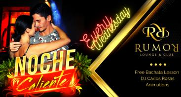 Latino šokių ir muzikos vakaras