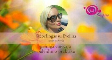 Rebefingas - sąmoningas kvėpavimas su Evelina (Martyno Driuko mokine)
