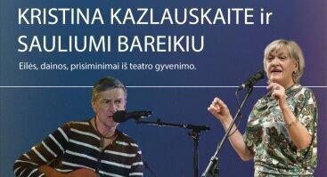 Susitikimas su aktoriais K. Kazlauskaite ir S. Bareikiu | Vilnius