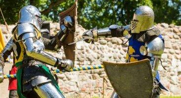 Išmok KAUTIS - viduramžių kovų treniruotės!