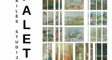 Dailės studijos PALETĖ 50 - mečio retrospektyvinė paroda