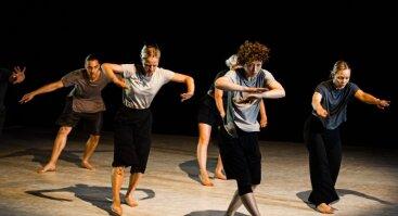"""Šiuolaikinio šokio spektaklis """"Audros akis"""""""