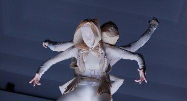 """Šiuolaikinio šokio spektaklis """"Olmeulmad: Sanctum textum"""" (Estija)"""