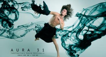 "Tarptautinis šokio festivalis AURA 31. EGRIBIANCODANZA spektaklis ""Leonardo Da Vinci: Anatomie Spirituali"