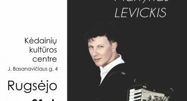 Solo koncertas. Martynas Levickis