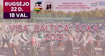 """Visa ""Baltica"" šoka"" 2021"