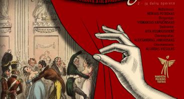 """""""Vienos kraujas"""" J. Strauss 2-jų dalių operetė"""