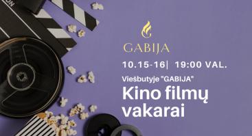 Kino filmų vakarai viešbutyje @GABIJA!