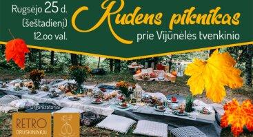 Rudens piknikas prie Vijūnėlės tvenkinio | Druskininkų turizmo dienos