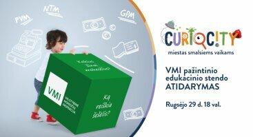 VMI edukacinio pažintinio stendo vaikams atidarymas